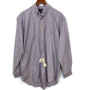 Polo Ralph Lauren Long Sleeve Button Down Shirt M